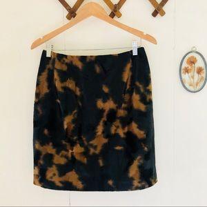 Harvé Benard • Faux Fur Skirt